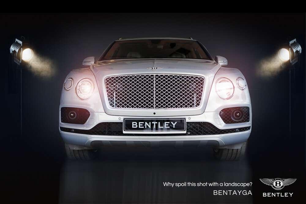 Bentley Bentayga Car Photoshoot Red Giraffe Marketing