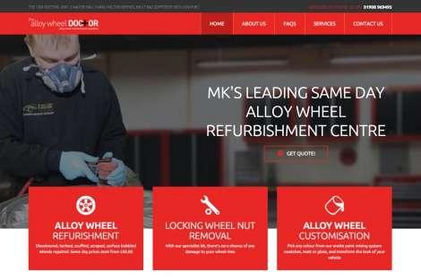 alloy wheel company website design milton keynes