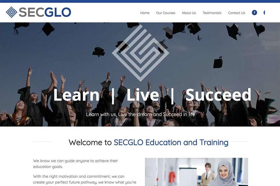 education website thumb