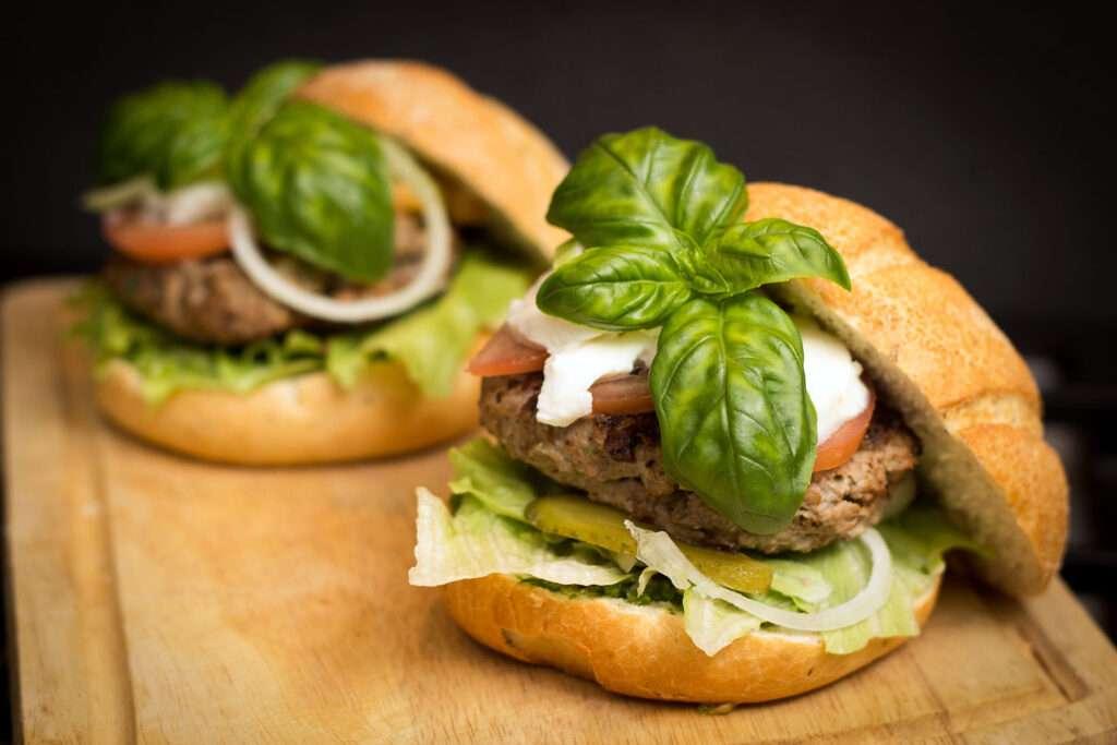 gourmet burger web design