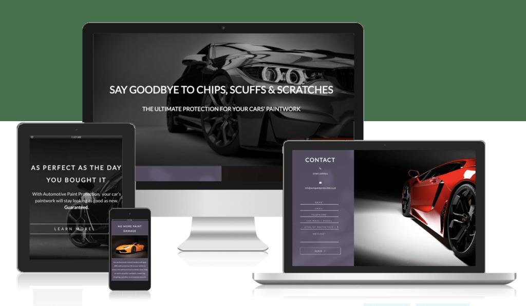 car website design milton keynes