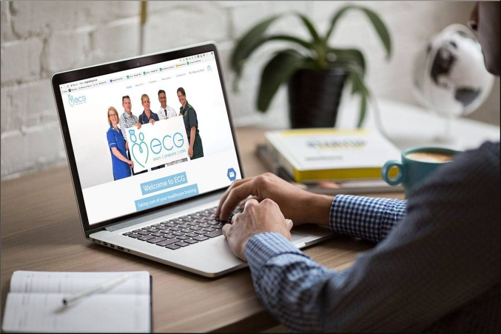 medical training website design milton keynes